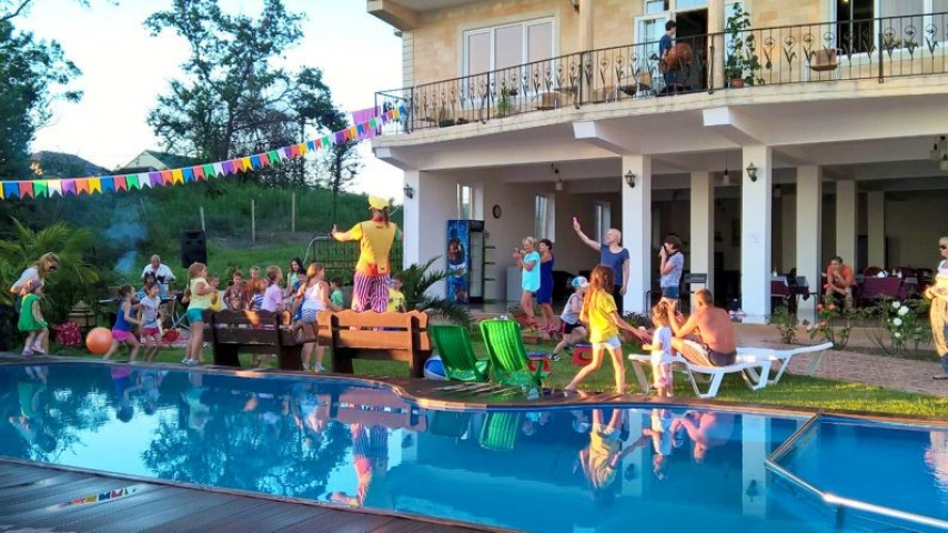 Жемчужина Кавказа-2, отель. 07.детская анимация